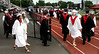 Bob Raines--Montgomery Media<br /> The Class of 2015 turns onto the the field to take their seats at the William Tennent High School graduation ceremony June 17, 2015.