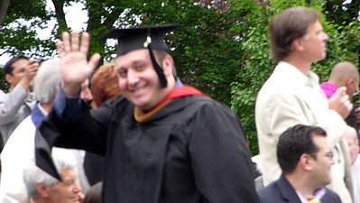 2011-05-22 Andy gets an MBA at Fairfield University