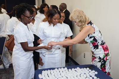 Techni-Pro Institute Class of 2016 Pinning and Candle Lighting Ceremony