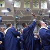 Special to the Record-Eagle/Tessa Lighty<br /> Students celebrate during the Traverse City St. Francis High School Commencement Ceremony on Sunday, June 2, 2019.