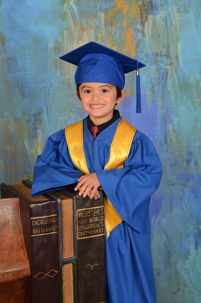 Arthur's Preschool Graduation Photos