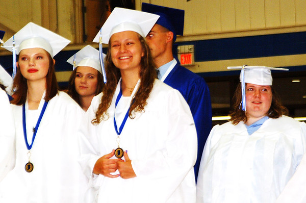 Debbie Blank | The Herald-Tribune<br /> Some Batesville High School seniors were excited, others were nervous or sad, but many were simply happy as they reached the milestone.
