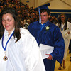 Debbie Blank | The Herald-Tribune<br /> NEWLY-MINTED GRADUATES leave the gym.