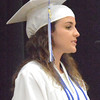 "Will Fehlinger | The Herald-Tribune<br /> Salutatorian Anna Kick told her classmates, ""I urge all of you to celebrate today. You know we deserve it because starting tomorrow, I hope you will embrace life with a new perspective, one that will lead you to countless more memories."""