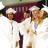 Debbie Blank | The Herald-Tribune<br /> One last time for a little girl talk within BHS. The next time these friends could gather might be a party, wedding or reunion.