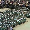 Billerica Memorial High School graduation. (SUN/Julia Malakie)