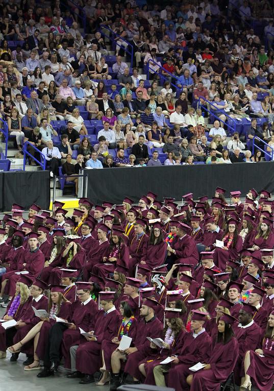 . Chelmsford High School graduation. (SUN/Julia Malakie)