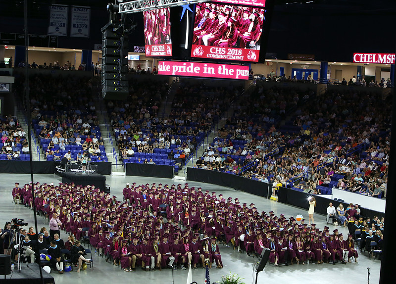 Chelmsford High graduation. (SUN/Julia Malakie)