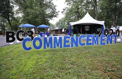 BC3 graduation 2020. Seb Foltz/Butler Eagle