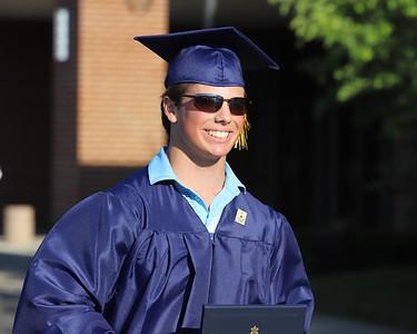 Cody Killian, Mars graduation 2020. Seb Foltz/Butler Eagle