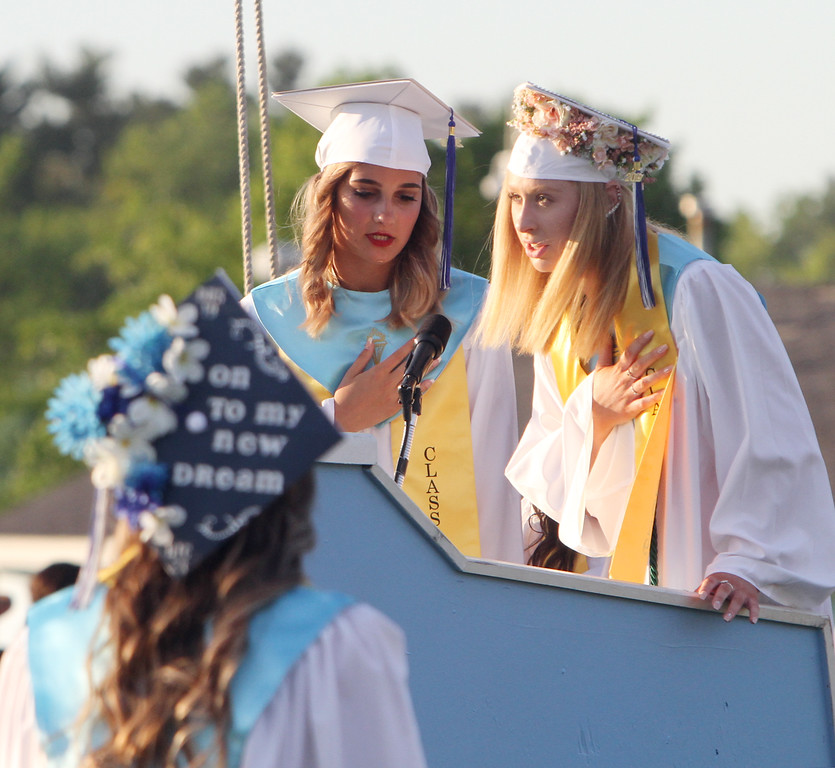 . Dracut High graduation. (SUN/Julia Malakie)