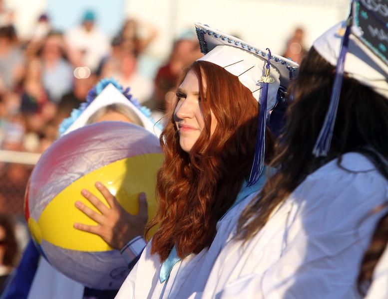 Dracut High graduation. (SUN/Julia Malakie)