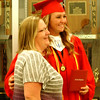 Sarah Dougan | The Herald-Tribune<br /> Graduate Maddalyn Kirby posed for a picture with her aunt Gretchen Pennington as the crowd moved into the Activity Center.