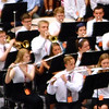 "Sarah Dougan | The Herald-Tribune<br /> The band performed several times before and during the ceremony. As people walked in it played a combination of Disney songs. Later in the ceremony musicians presented ""Changes."""