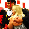Sarah Dougan | The Herald-Tribune<br /> Jacob Steinmetz and girlfriend Alyssia Murray began celebrating the event after the ceremony with some photos in the Activity Center.