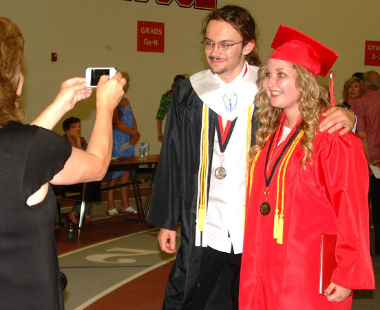 Diane Raver | The Herald-Tribune<br /> PHOTOS, parties, presents and packing up are in store for many East Central High School seniors.
