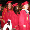 Diane Raver | The Herald-Tribune<br /> SENIORS spent a lot of time in lines during commencement exercises and were photographed almost every step of the way.