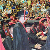 Will Fehlinger | The Herald-Tribune<br /> Special recognition was given to those East Central High School graduates entering careers in the armed forces.