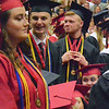 Will Fehlinger | The Herald-Tribune<br /> Honor graduates are acknowledged during East Central High School commencement exercises Sunday, June 4.