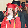 Will Fehlinger | The Herald-Tribune<br /> Graduates from East Central's Class of 2017 prepare to enter the ECHS gymnasium for commencement exercises June 4.