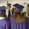 Record-Eagle/Sarah Brower<br /> A group of friends  reminisce before graduating.