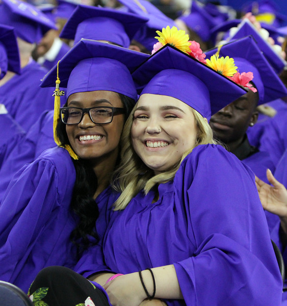 Greater Lowell Tech graduation. (SUN/Julia Malakie)