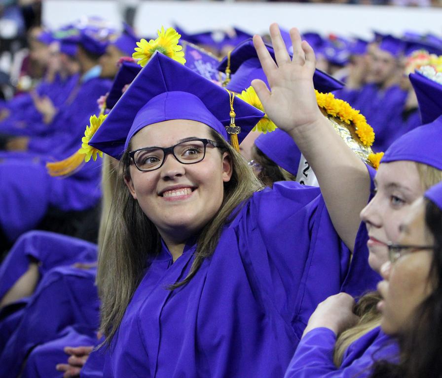 . Greater Lowell Tech graduation. (SUN/Julia Malakie)