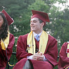 Groton-Dunstable graduation, at the high school. (SUN/Julia Malakie)