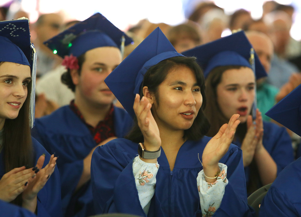 . Innovation Academy Charter School graduation. (SUN/Julia Malakie)