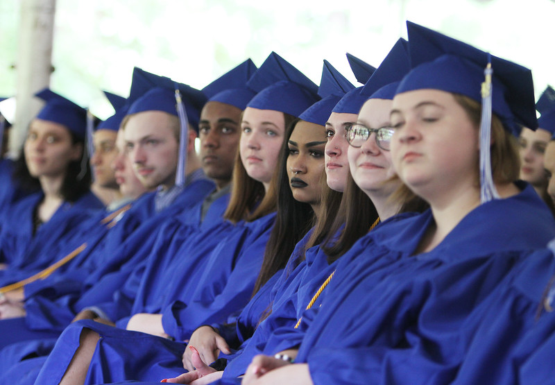 Innovation Academy Charter School graduation. (SUN/Julia Malakie)