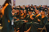 Seniors applaud as awards are distributed at the Lansdale Catholic high school commencement ceremony.   Tuesday, June 3, 2014.  Photo by Geoff Patton