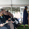 Lawrence Academy staff members listen to remarks by student speaker Shae McDonald of Marlboro during the Class of 2016's graduation in Groton. Nashoba Valley Voice/Chris Lisinski