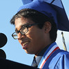 Littleton High School graduation, at the high school. Salutatorian Sujith Ramesh. (SUN/Julia Malakie)