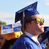 Littleton High School graduation, at the high school. Kyle Nekrasz. (SUN/Julia Malakie)