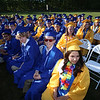 Littleton High School graduation, at the high school. (SUN/Julia Malakie)