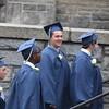 Lowell Catholic graduation. (SUN/Julia Malakie)