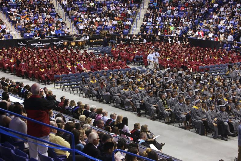Lowell High School graduation. (SUN/Julia Malakie)