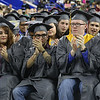 Lowell High graduation. (SUN/Julia Malakie)