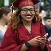 Carolina Padilla, before Lowell High graduation. (SUN/Julia Malakie)