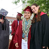 Vannida Chap with history teacher Jessica Lander, before Lowell High graduation. (SUN/Julia Malakie)