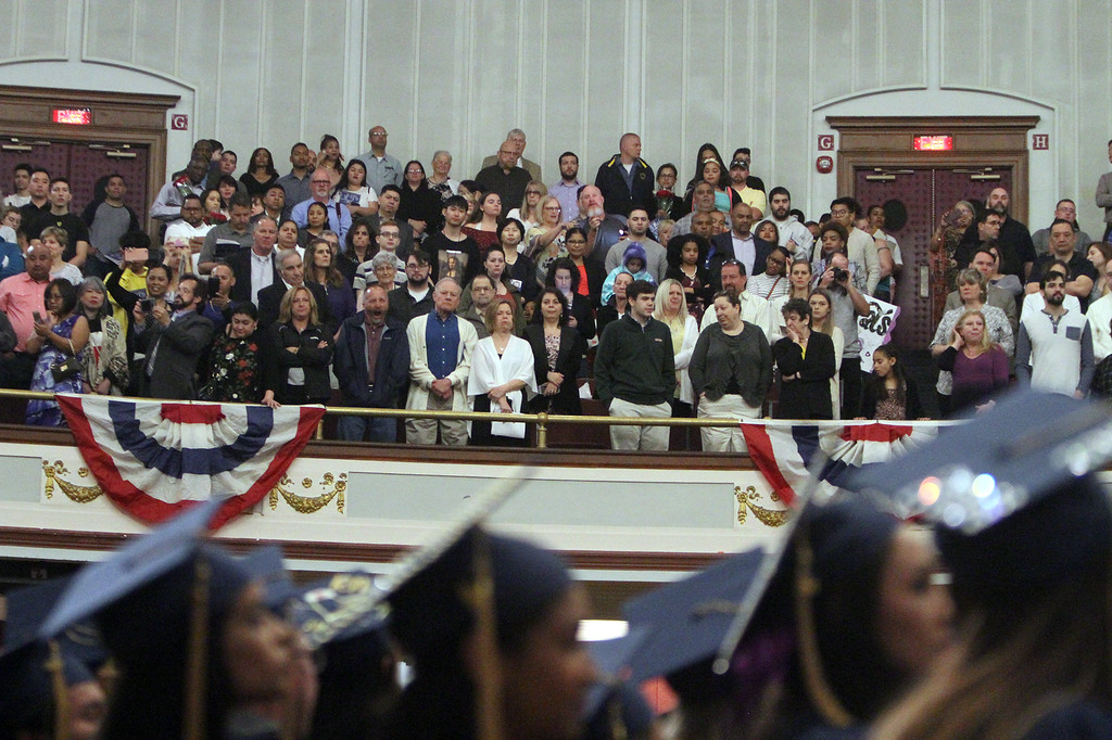 . Middlesex Community College commencement. (SUN/Julia Malakie)