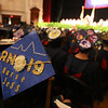 Middlesex Community College commencement. Jess Harvey of Tewksbury was receiving an A.S. in Nursing. (SUN/Julia Malakie)