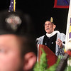 President James Mabry addresses Middlesex Community College commencement. (SUN/Julia Malakie)