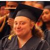 Middlesex Community College commencement. Sara Robinson of Billerica. (SUN/Julia Malakie)