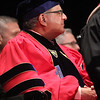Middlesex Community College commencement. New trustee and former Sun editor Jim Campanini.(SUN/Julia Malakie)