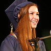 Middlesex Community College commencement. Alicia Gentile of Groton, one of two student speakers.  (SUN/Julia Malakie)