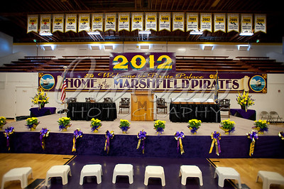 Marshfield High Graduation 2012