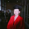 The proud graduate