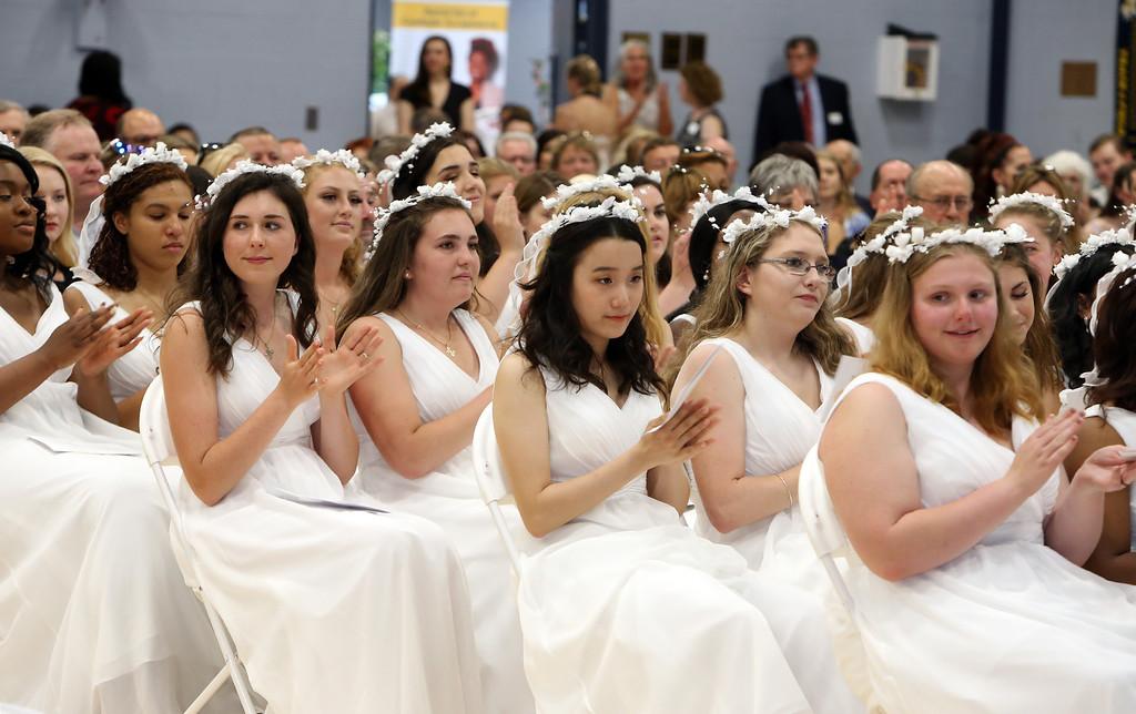. Notre Dame Academy  graduation. (SUN/Julia Malakie)