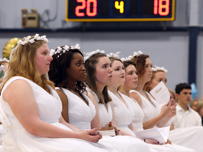 Notre Dame Academy  graduation. (SUN/Julia Malakie)